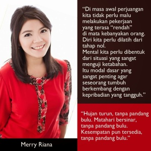 MERRY RIANA - Motivasi Inspirasi 2