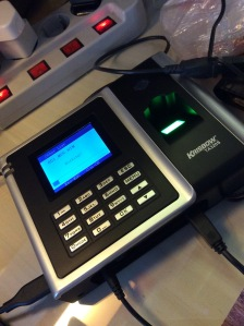 Fingerprint Attendance Machine
