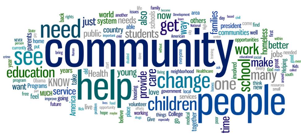 community-words