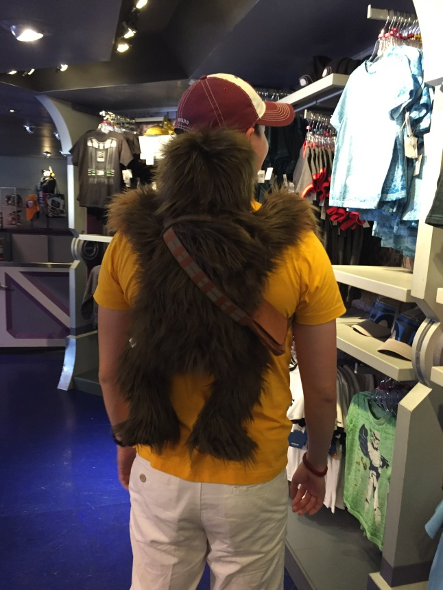 Chewbacca Won't Get Off Me (2)