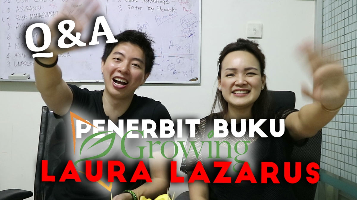 Ngobrol Bareng Laura Lazarus Di Growing Publishing