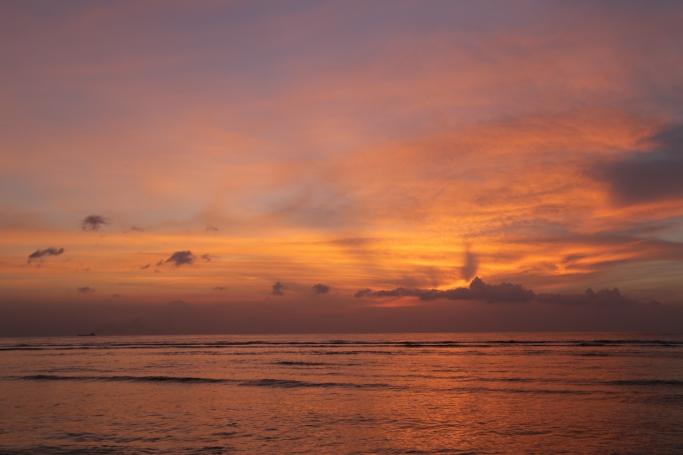 Sunset Gili Trawangan