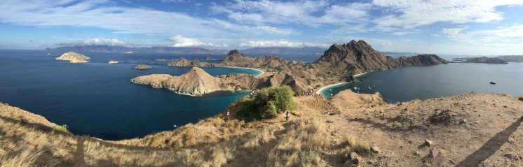 Panorama of Padar Island