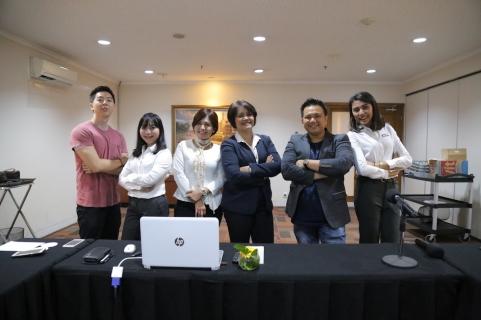 Bersama bu Linda, Director of Commercial & Hospitality PT PP Properti Tbk