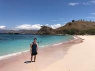 Me at Pink Beach