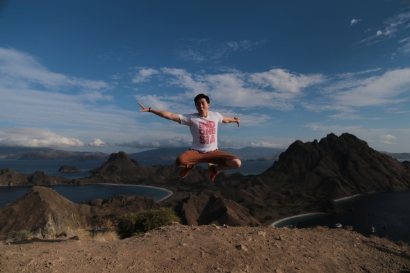 Jumping Higher Than Padar
