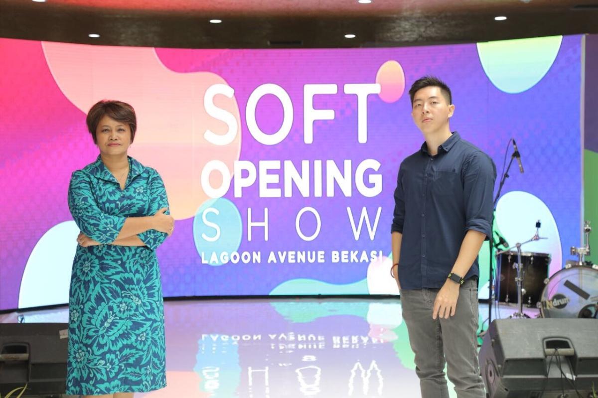 Soft Opening Lagoon Avenue Bekasi