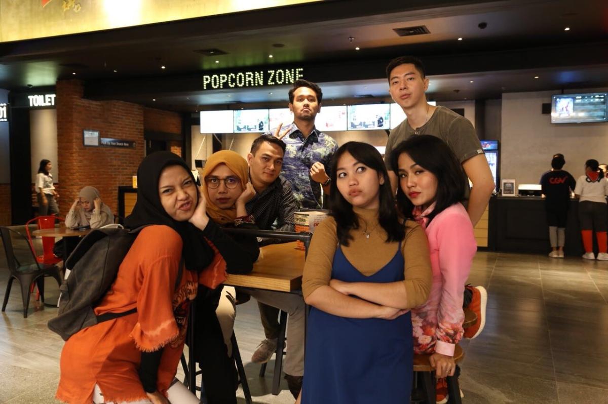 Syuting Sketsa Bareng Tim & Tenant Lagoon Avenue Bekasi