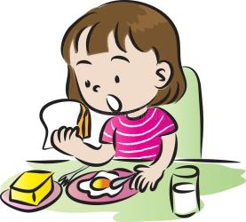 having-breakfast-vector-cute-cartoon-children-44485529